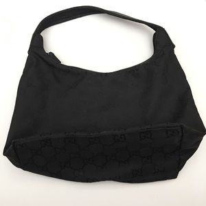 Gucci Bags - Gucci Vintage Hobo Black Bag Great Condition